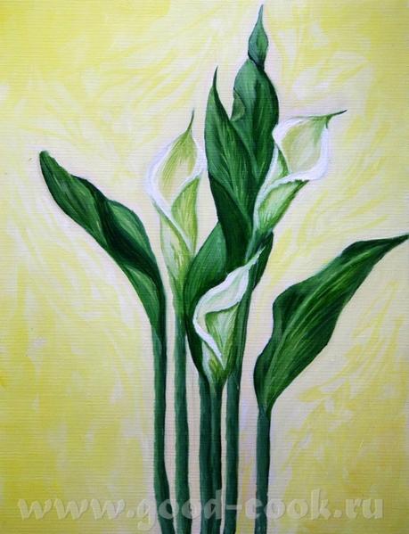 первый цветочек а это так сказать рисунок с натуры - 2