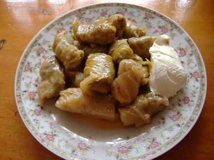 Сърми(голубцы) из кислой капусты немного пояснения,капусту в Болгарии предпочитают солить целыми ко... - 2