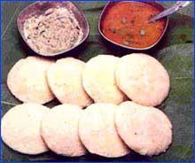 ИДЛИ (IDLY) Рецепт из Курга, о котором я писала в индийской теме
