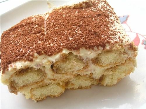 Творожный десерт в стиле тирамису Малиновый десерт с манго