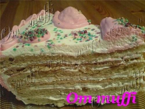 """торт """"Сметанник"""" - 2"""