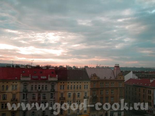 Вид с окна нашей гостинницы А это знаменитые Кжижиковы Фонтаны, великолепное зрелище когда стемнеет...