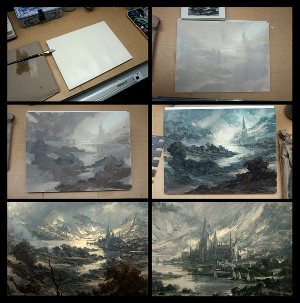 12 уроков акварельной живописи от английского художника Alwyn Crawshaw Диск 1 1 - 6