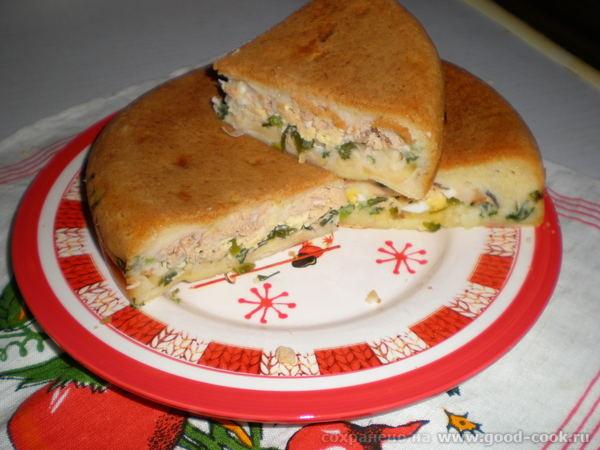 Умикин рыбный пирог