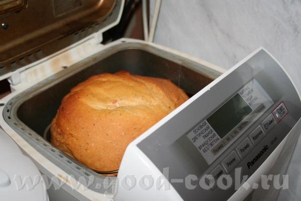 Хлеб белый с чесноком, томатом и укропом
