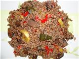 КАШИ Коричневый рис со специями Пшенно-рисовая каша с тыквой Гречневая каша с грибами и овощами Мяс...