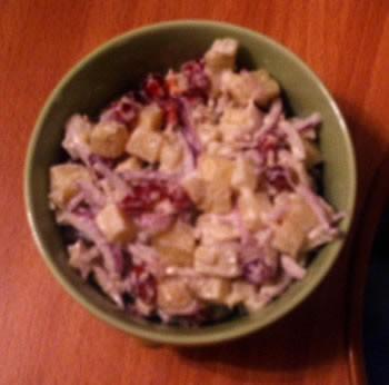 Спасибо огромное Гюли за нар салаты - гранатовый салат