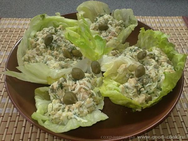 салат из печени трески от Зоя
