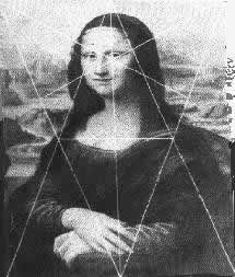 Золотое сечение в живописи Мона Лиза В живописи золотое сечение также не останется не замеченным