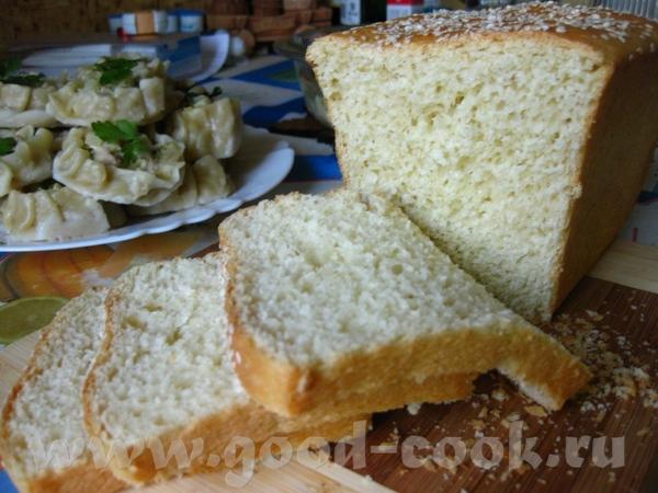 Хлеб на сметане по рецепту Очень вкусный и ароматный хлебушек, только я вместо мака посыпала кунжут... - 2