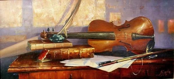 скрипка - вообще необычный инструмент