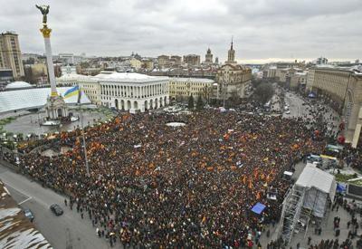 Майдан Незалежности Революция