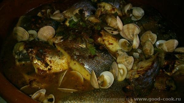 Рыба в собственном соку