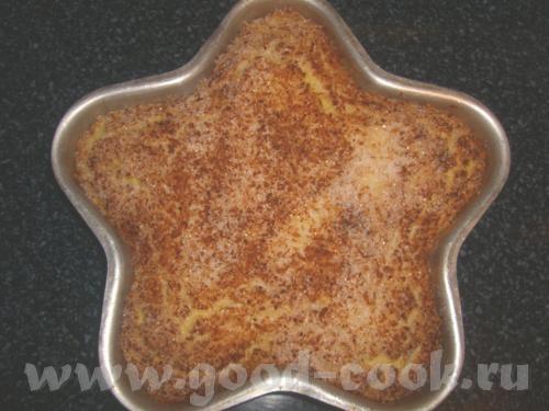 Кокосовый пирог от jalo До пропитки После