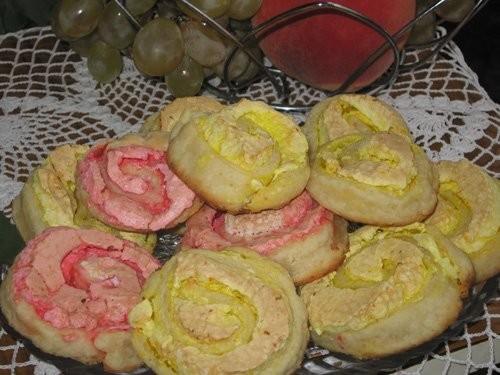 Танечка, спасибо за рецепт печенья Розочки