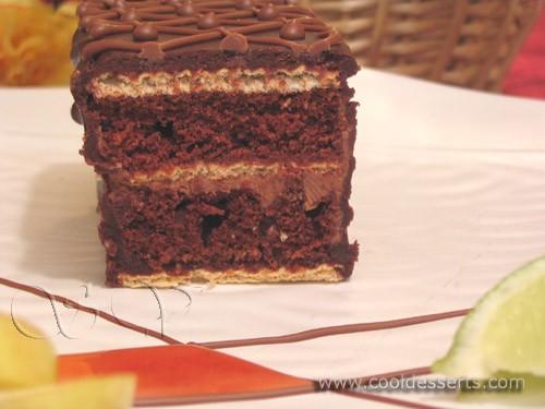 Следующее пирожное по вкусу напоминает большую шоколадную конфету - 2