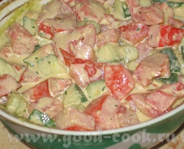 Острый салат с тхание соусом к рыбе от SeraFima Я делала его по рецепту, который Вика давала на сво... - 2