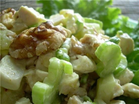 """Наверняка многим известен подобный классический салат """"Ананасов с курицей"""", в моем арсенале он появ... - 2"""