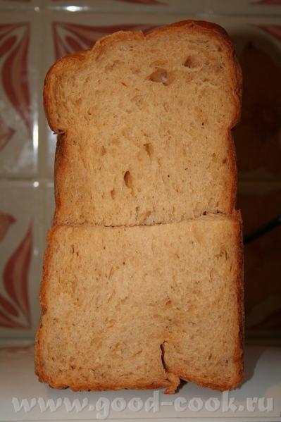 Какой классный у тебя получился хлеб