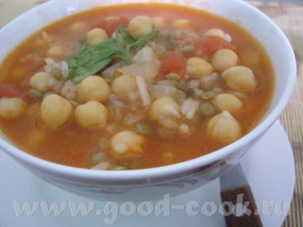 Суп харира по-мароккански, постный Суп харира, отличающийся множеством вариантов приготовления в за...