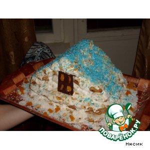 Сайт Поварёнок Зимняя избушка От Нюсик Очень вкусный тортик