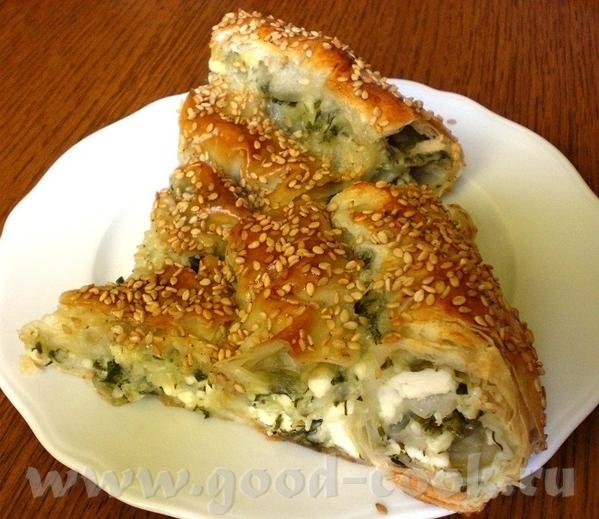 """Алиса, хочу проблагодарить тебя за рецепт """"Крученый пирог с зеленью, козьим сыром и моццареллой"""" -..."""