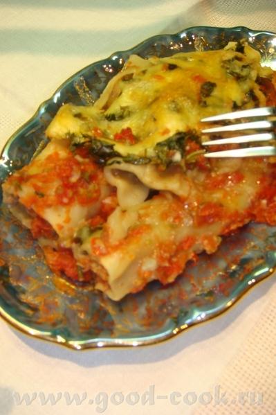 Алена, спасибо тебе за рецептик супер Канелони с мясом, белыми грибами под луково-томатным соусом