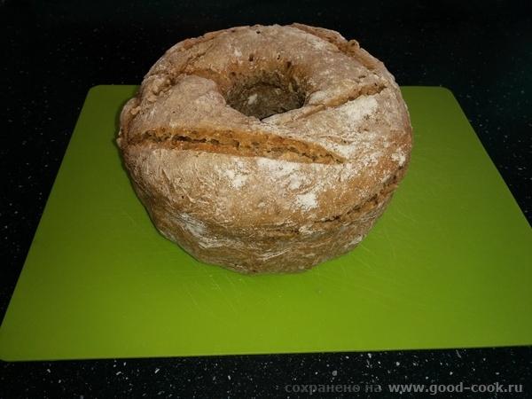 Ржано-пшеничный хлеб на закваске