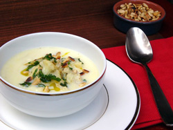 Горячие cупы Супы овощные С грибами и баклажанами Суп-пюре грибной Суп из баклажанов с грибами от C... - 3