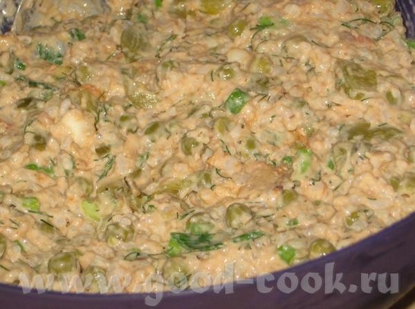 Ужин на неделе, 2 салата с рисом, поэтому идут как самостоятельный, полноценный обед: Салат с крабо... - 3