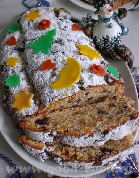 Quarkstollen Рождественский творожный кекс Dr