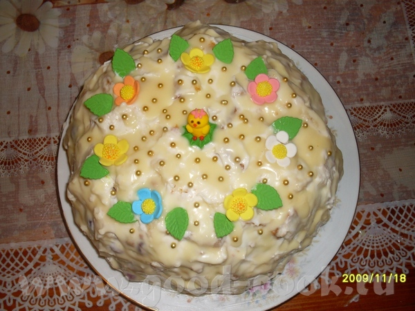"А вот и мой ""Панчо"", готовила на д/р ребенка (сверху залила белым шоколадом), спасибо за рецепт"