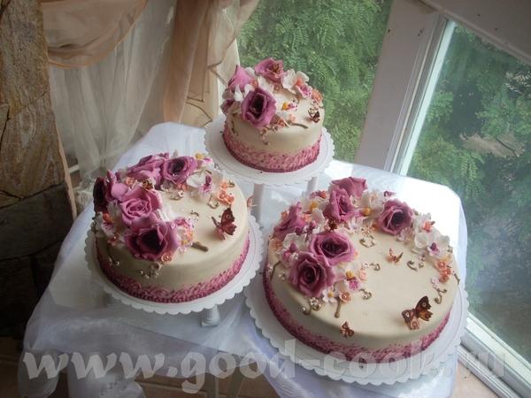 Хаска,очень аккуратные тортики