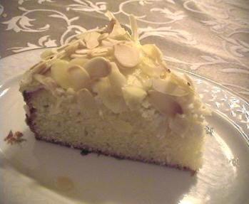 Пирог миндальный с творогом риккота oт Мишель - 2