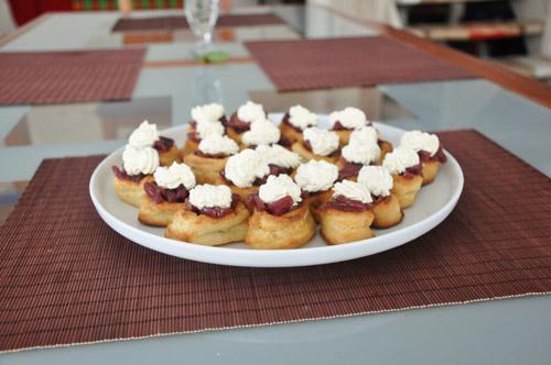деликатная закуска к белому, розовому или игристому вину - 3