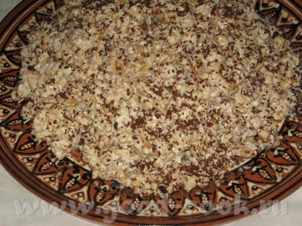 Муравейник Шоколадный пирог со сливами Все рецепты можно найти ЗДЕСЬ - 3