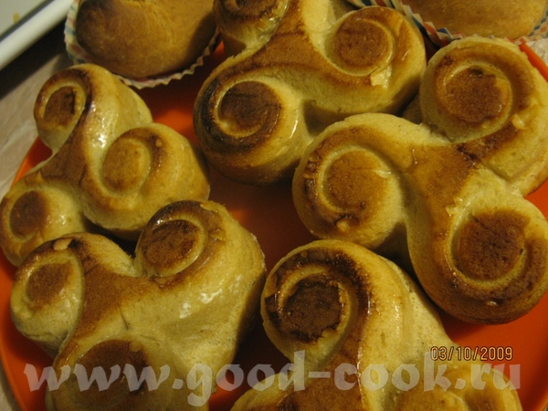Булочки яблочно- медовые автор i_lara оригинал рецепта тесто просто чудесное