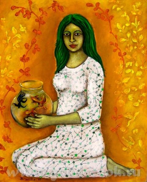 Индийские традиционные картины - 4