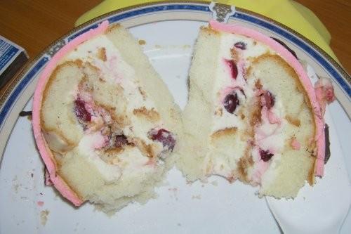 Вот мой торт на ДР сына: Внутри (извиняюсь за качество, было поздно, пришлось фоткать со вспышкой):... - 2