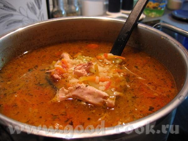 Ким-Чи не получилось - капуста кончилась, но зато получился суп краснодарский из бонус-задания спас...