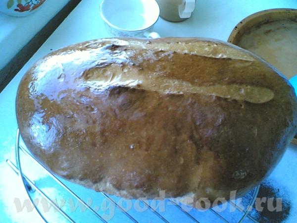 Батон пшеничный на манной крупе и кефире от Ромы Зеленым цветом выделен текст с хлебопечка - 2