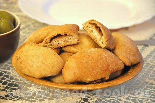 Критские пирожки с сыром или мясом Осетинский пирог с зеленью