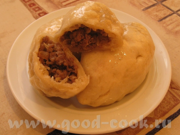 ПЕГЕЗЫ (ПЯН-СЕ) Пирожки на пару из дрожжевого теста