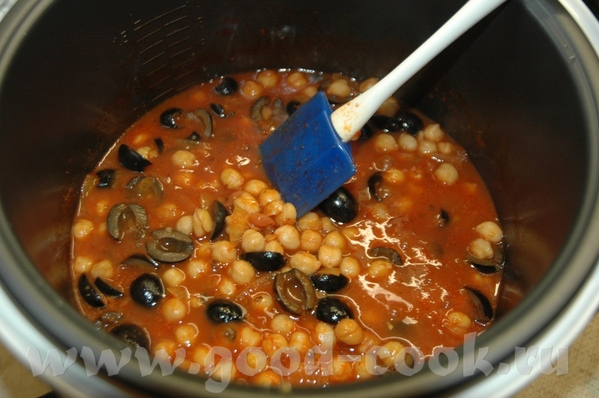 Нут в греческом стиле Рецепт брала тут 500 г отваренного или консервированного нута 3 ст