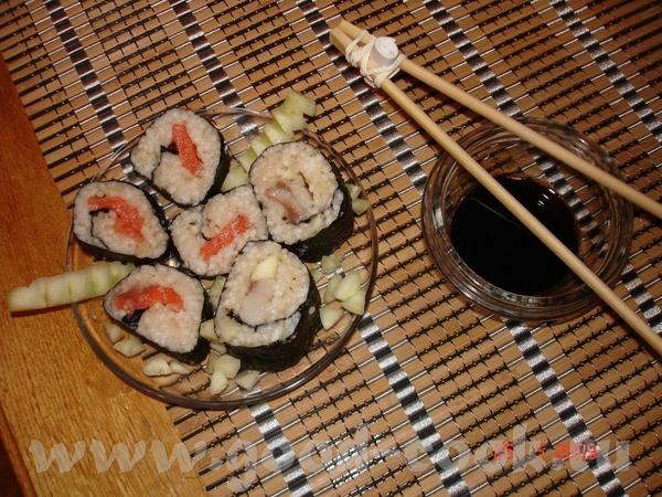 Хочу всем хозяюшкам,которые писали в темку о суши, сказть спасибо