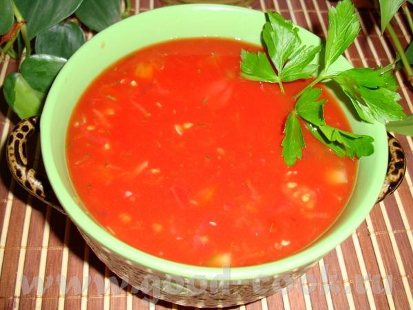 Приготовить томатный суп в домашних условиях 771