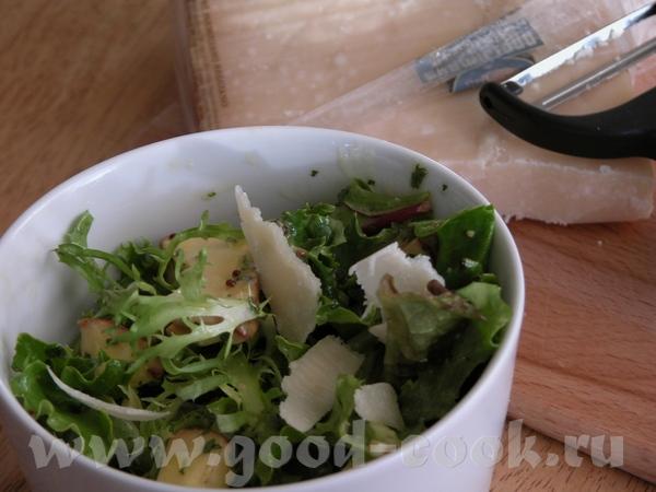 Вкусные салаты с грибами фото