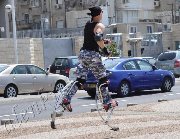 В Тель-Авиве всегда многолюдно - 2