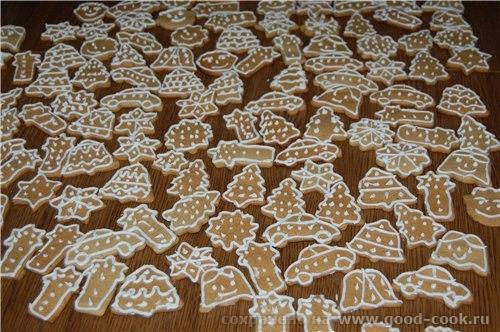Имбирное печенье Имбирное печенье по рецепту из финской кулинарной книжки (рецепт с форума флай-леди) Глазурь: 200г са...