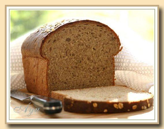 Ещё один хлеб с овсянкой